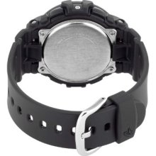 Casio Baby-G Ladies Quartz Watch With Black Dial Digital Display And Black Resin Strap Bgd-140-1Aer