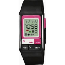 Casio Pop Tone Black Resin Ladies Digital Watch LDF-52-1A