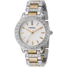 Fossil Two-Tone Mixed Metal Women's Watch ES2409