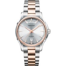 Hamilton H32595151 Watch Jazzamster Day Date Mens - Grey Dial Stainless Steel Case Automatic Movement
