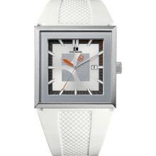 Hugo Boss Boss Orange White Rubber Mens Watch 1512706