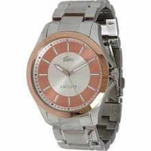 Lacoste Sofia Rose Gold Dial Ladies Watch