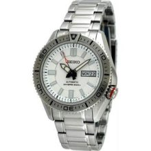 Men's Stainless Steel Superior Diver Automatic White