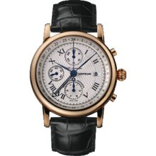 New Montblanc Star Chronograph Gmt Automatic Mens Watch 103685