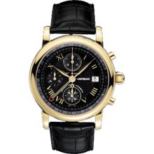 New Montblanc Star Chronograph Gmt Automatic Mens Watch 102345