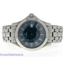 Omega Seamaster Quartz Steel Mens Watch Shipped From London,uk, Contact Us