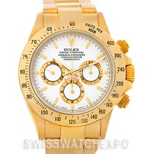 Rolex Cosmograph Daytona 18K Yellow Gold Watch 16528