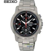 Seiko Neo Sports Snae47p1 Alarm Chronograph Men's Watch 2 Years Warranty