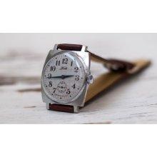 Soviet watch Russian watch Men watch Mechanical watch men's wrist -rare clock face watch -