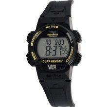 Timex T5k225 Mens Unisex Ironman Watch Triathlon 10 Lap Digital Wristwatch