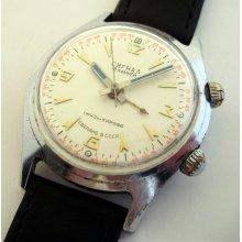 USSR Russian watch Poljot ALARM Signal