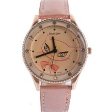 7 Colors Leather Wrist Girl's Lady Quartz Sport Casual Fashion Watch