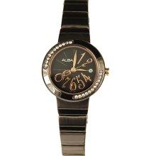 Alba Ladies Quartz Dress Watch with Swarovski Crystal AH7117X