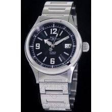 Ball Fireman Racer Steel 40mm Watch - Black/White Dial, Stainless Steel Bracelet NM2088C-SJ-BKWH Sale Authentic Tritium
