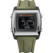 BOSS ORANGE Chronograph Digital Rubber Mens Watch 1512612