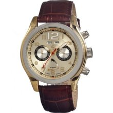 Carucci Ca2144gd Automatic Mens Watch Low Price Guarantee + Free Knife