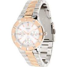 Guess U12649l1 Feminine High-shine Sport Mid-size Watch