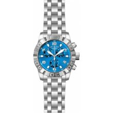 Invicta 11456 Men's Pro Diver Quartz Chronograph Blue Dial Watch