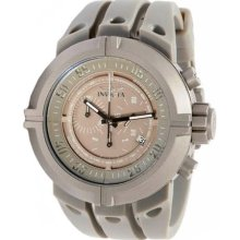 Invicta Men's 0850 Force Chronograph Grey Dial Grey Polyurethane Watch