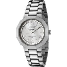 Ladies Invicta 0542 Angel Mop Dial Stainless Steel Swiss Quartz Watch