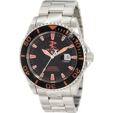 Mens Invicta 1019 Pro-diver Swiss Made Automatic Stainless Steel Date Watch