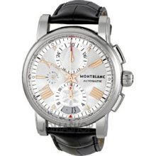 Montblanc Star Men's Stainless Steel Case Chronograph Automatic Watch 105856