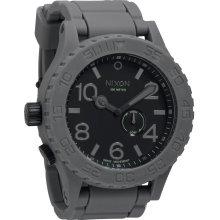 Nixon Rubber 51-30 Tide Watch - Grey / Black