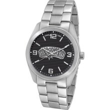 San Antonio Spurs Elite Series Men's Silver Watch