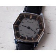 Soviet watch Russian watch men watch Mechanical watch -Rare Watch-men's wrist