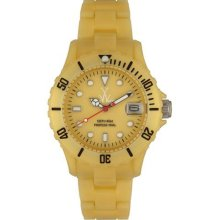 Toy Watch FLP16GD Plasteramic Gold Womens Watch