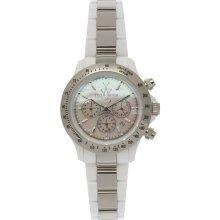 ToyWatch Heavy Metal Plasteramic Silver Watch 18207-SL - Silver - Silver