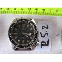 Vintage Seiko Diver 4205-015t Automatic Gents Parts Watch Asis