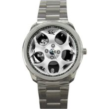 2012 Ford Fiesta 4 door-hb-ses Wheel Sport Metal Watch - Stainless Steel