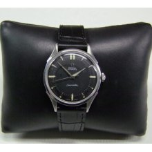 60's Omega Seamaster Black Dial Automatic Cal:354 Man's Watch