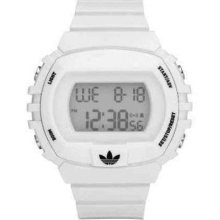 Adidas Unisex Digital White Plastic Resin band ADH6125 Watch