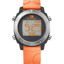 Boss Orange Rubber Digital Mens Watch