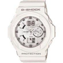 Casio G Shock Men s GA150 7A Matte White 3D Digital Sport Watch
