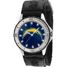 Game Time Official Team Colors. Nfl-Vet-Sd Men'S Nfl-Vet-Sd Veteran Custom San Diego Chargers Veteran Series Watch