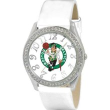 Game Time Official Team Colors. Nba-Gli-Bos Women'S Nba-Gli-Bos Glitz Classic Analog Boston Celtics Watch