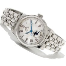 Gevril Men's Chelsea Limited Edition Swiss Made Automatic Stainless Steel Bracelet Watch