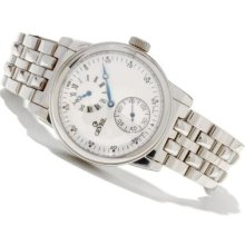 Gevril Men's Gramercy Limited Edition Swiss Made Automatic Stainless Steel Bracelet Watch