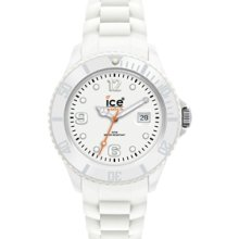 Ice Sili Forever 101963 White Silicone Strap Men's Watch