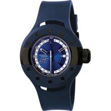 Invicta 11999 Men $695 S1 Rally Blue Dial Quartz 3hand Blue Polyurethane Watch