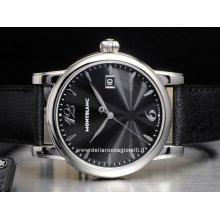 Montblanc watch Star Date NEW 105893 stainless steel watch sale buy
