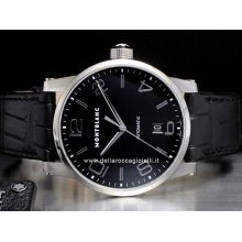 Montblanc watch Timewalker Automatic NEW 105812 stainless steel watch
