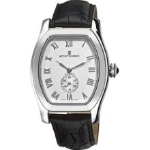 Revue Thommen Mens Tonneau Silver Face Automatic Watch 12016.2532