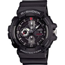 Casio Gshock Black Gac100-1a X-large Red Face Dial 2013 200m