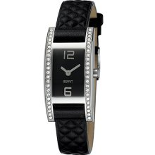 Esprit Quartz Esplanade Black Ladies Dress Watch ES103692001