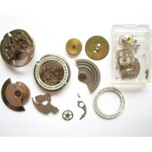 Fe Cal 3611/12 Automatic Watch Movement Part Lot