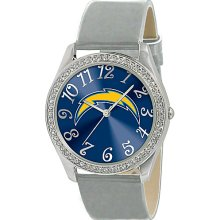 Game Time Glitz - NFL - San Diego Chargers Black